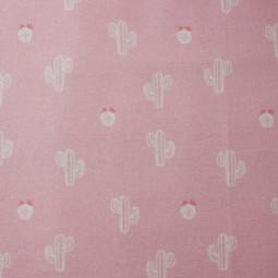 Tejido algodón Cactus rosa